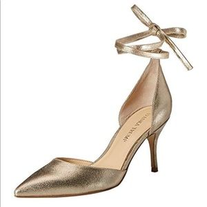 de9597805ef Women s Ivanka Trump Gold Heels on Poshmark